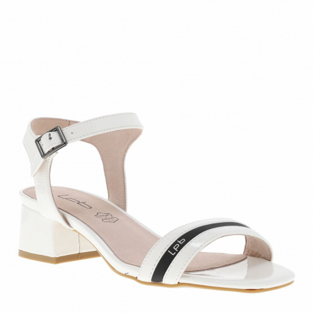Chaussures Nu-pieds Peggy femme blanc