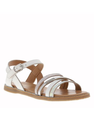 Chaussures nu-pieds Irene fille gris