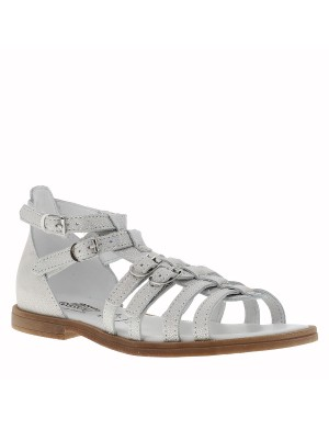 Chaussures Italie nu-pieds fille rose