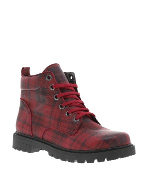 Boots Sigmala fille rouge