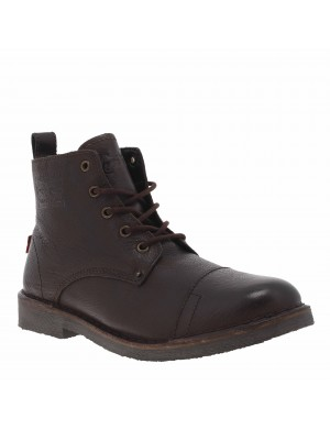 Boots TRACK homme marron