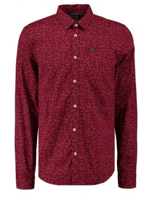 Chemise homme rouge