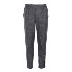 Chino fille TEDDY JOG SIDE gris