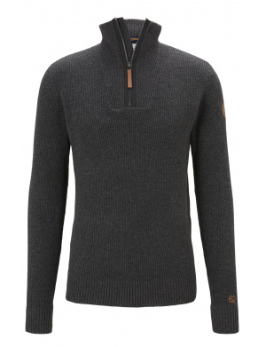 Pull homme droit   anthracite