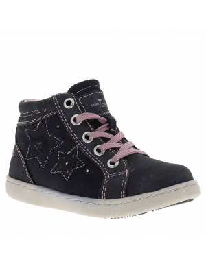 Boots fille marine