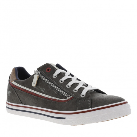 Baskets basses homme anthracite