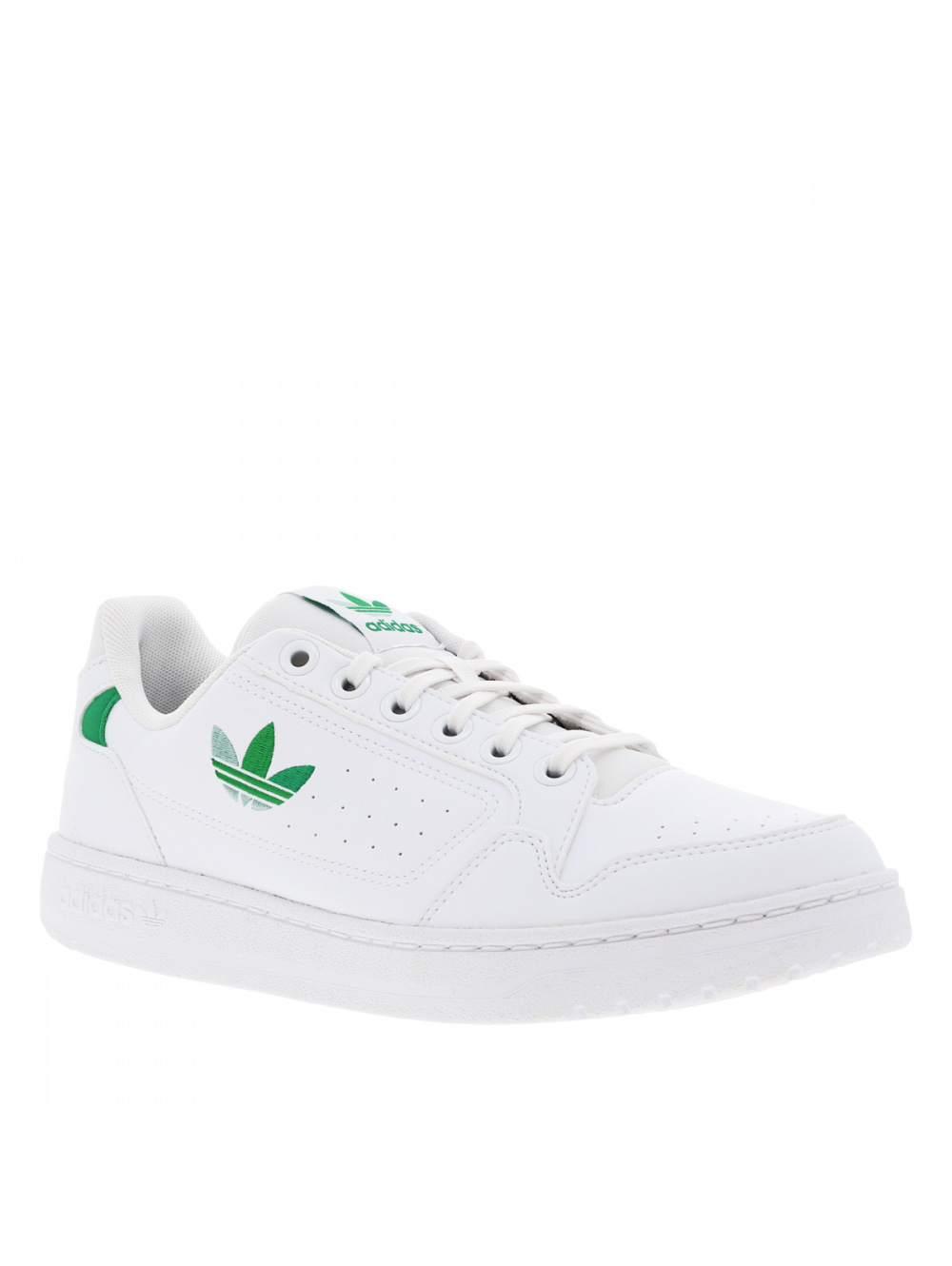 Baskets basses blanches et vertes pour homme NY 90 Adidas,adidas ...