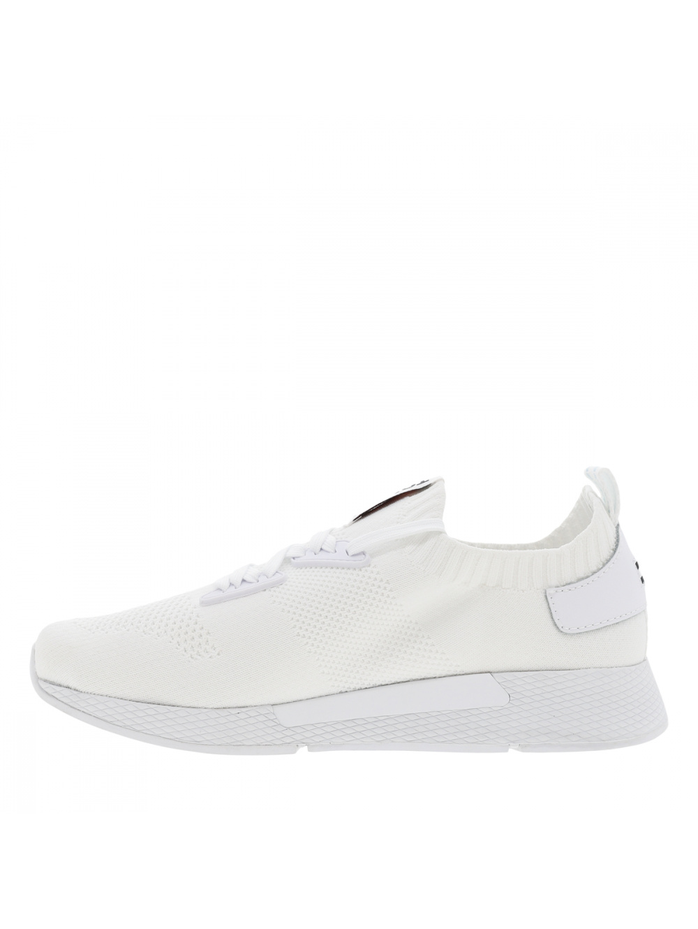 Baskets basses blanches de style sportif TOMMY JEANS