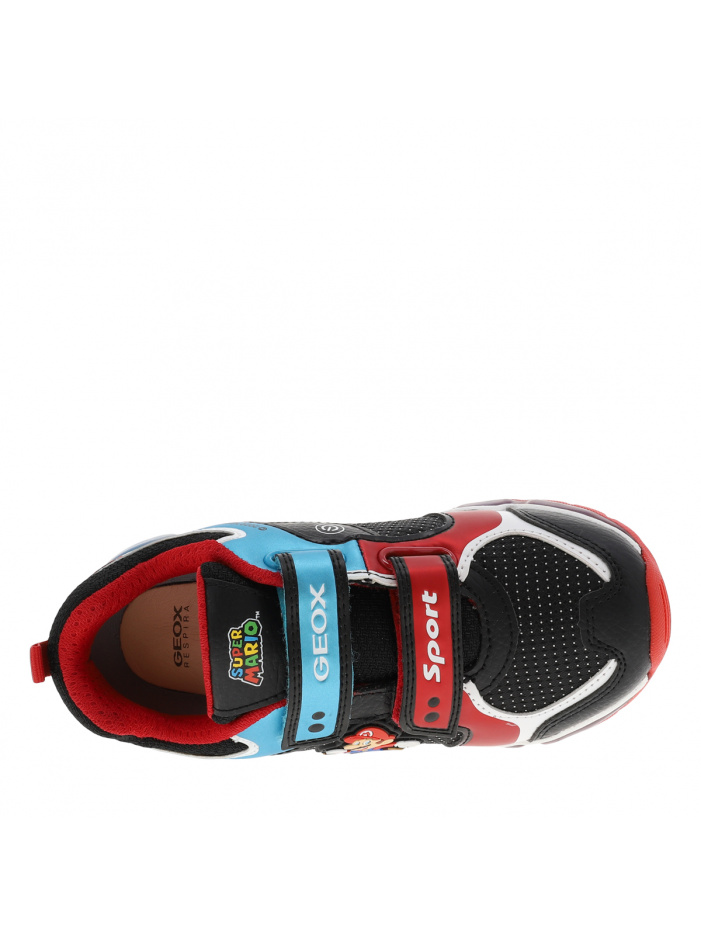 Baskets basses ANDROID noires GEOX