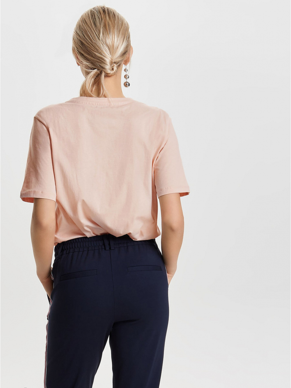 T-shirt manches courtes femme rose ONLY